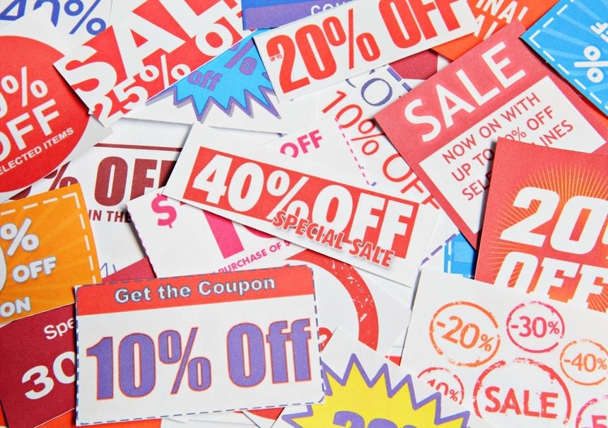 Image of a stack of coupons. Our team helped a national retailer create better forecasts as they used analytics to understand which traffic-driving coupons worked.